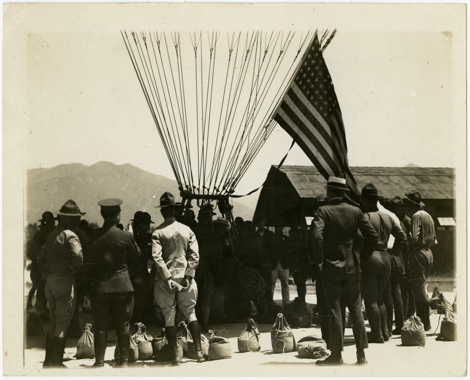 images for USA, Army Balloons Schools, Arcadia, CA (Ross Field), General. photograph
