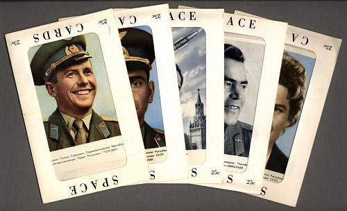 Cosmonaut Space Cards