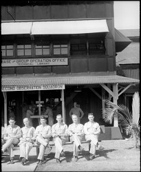 Military, USA, Army Air Corps, Units, 20th Air Base Squadron; 4th Composite Group; 2nd Observation Squadron. [photograph]