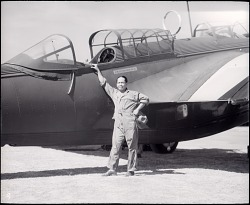 Albonas, D. (Sgt); Martin (Glenn L.) B-10B (Model 139); Military, USA, Army Air Corps, Units, 2nd Observation Squadron. [photograph]