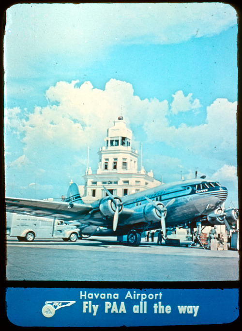 Pan American Airways (Pan Am) Promotional Color Slides Collection