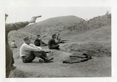 Air Force, Units, 336th Fighter Squadron; Bases and Installations, Foreign, South Korea; Korean War. [photograph]