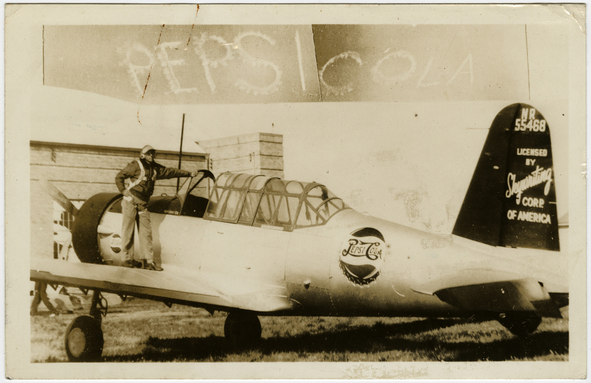 S. Sidney Pike Skywriting Corporation of America Collection