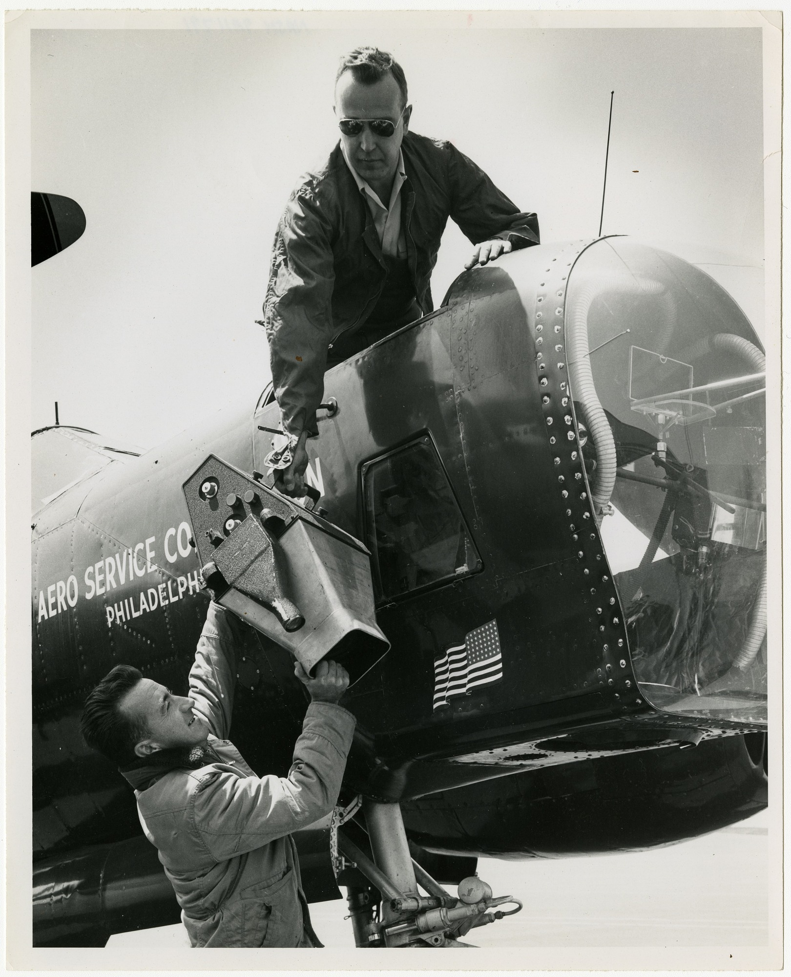 Virgil Kauffman/Aero Service Corporation Collection