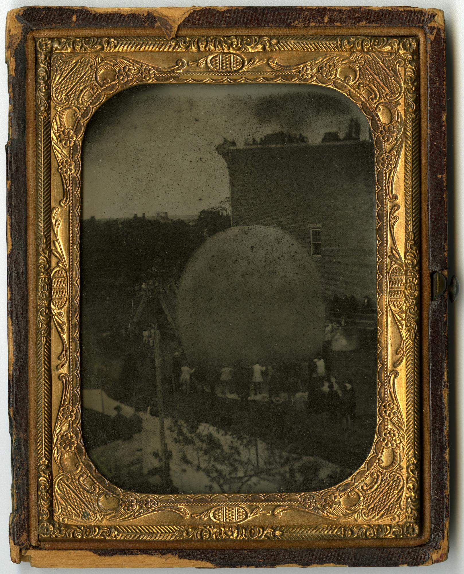 images for LTA, Balloons, USA, Steiner (John), Erie, Pennsylvania, Ascension (June 1857). photograph