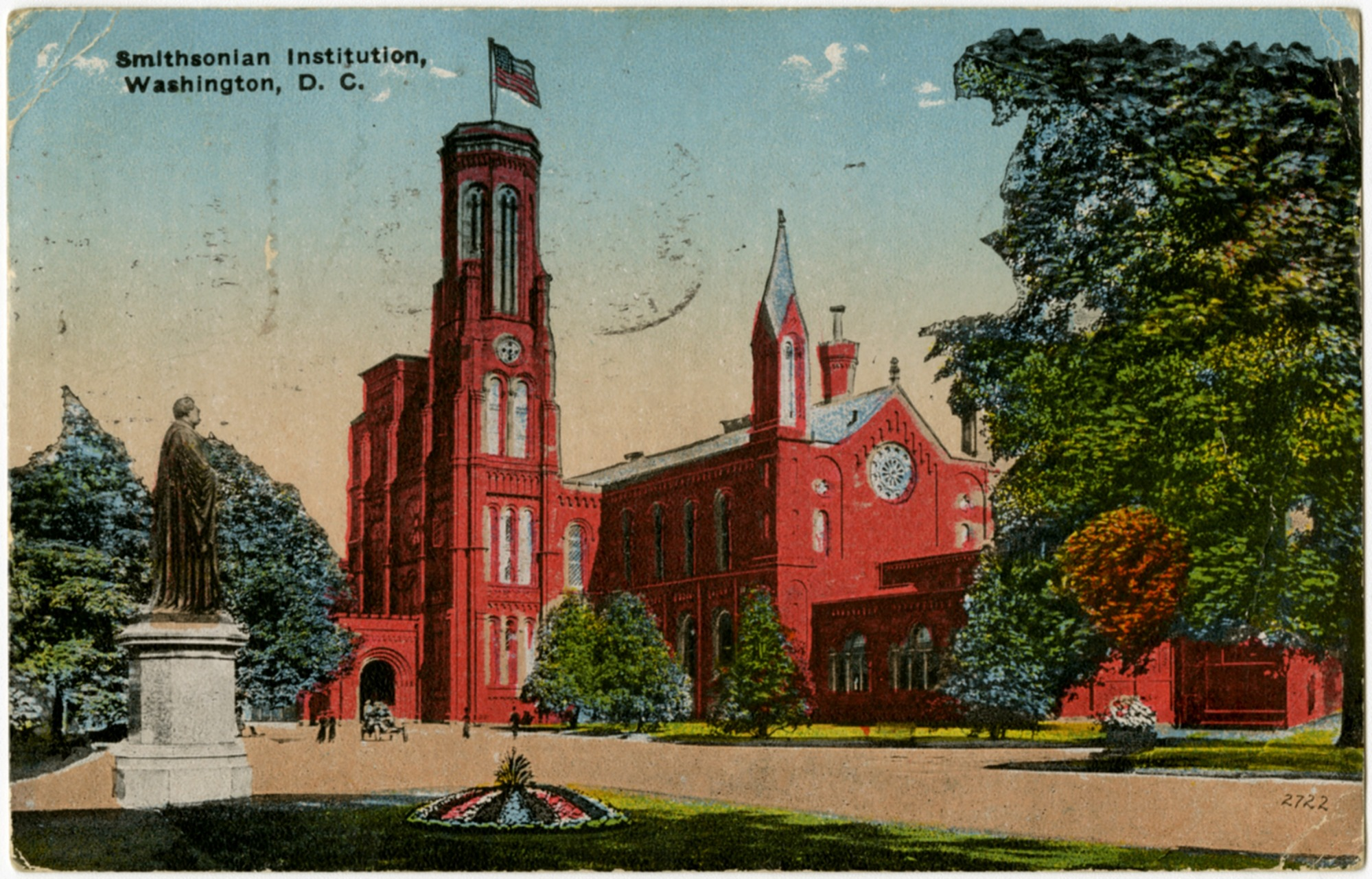 """images for Museums, Smithsonian Institution (SI), SI Facilities, Smithsonian Building (""""Castle""""). ephemera"""