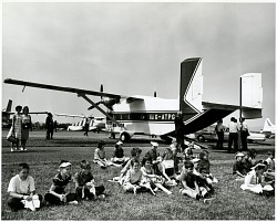 Reading Air Show (Reading, PA, 1939-1980); Shorts S.C.7 Skyvan Series 2. [photograph]
