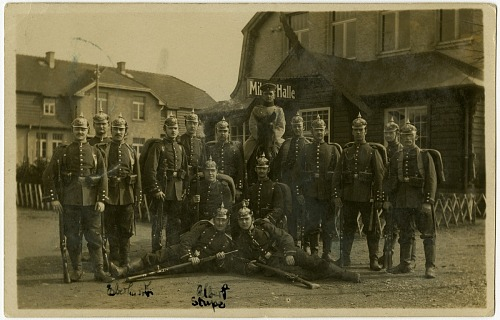 Albert and Willy Stupe World War I Photograph Album