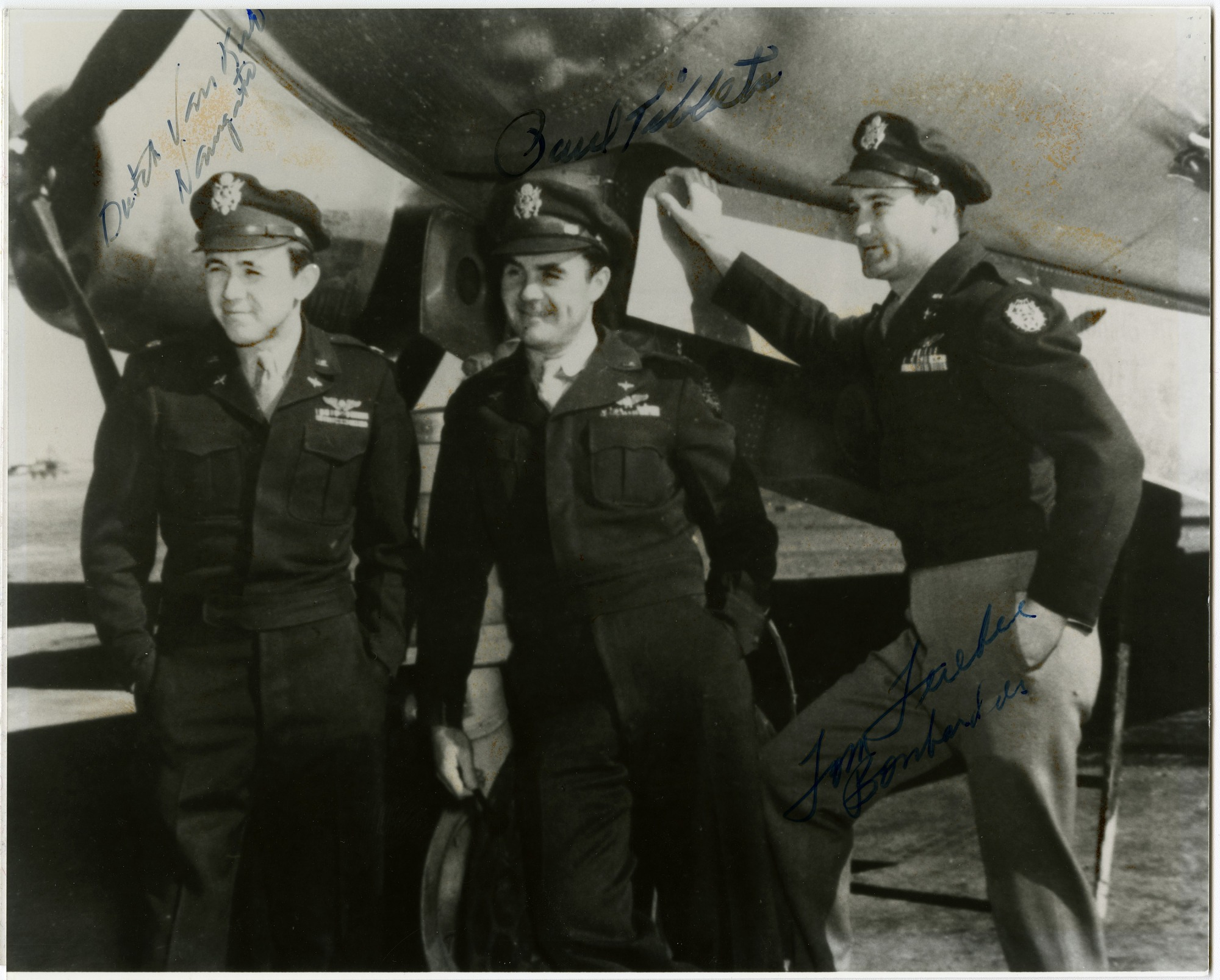 Boeing B-29 Superfortress Enola Gay Autographed Crew Photograph