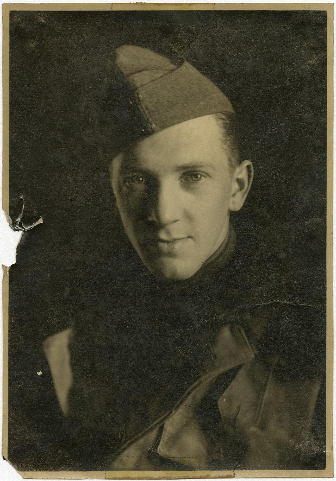 World War I 14th Balloon Photo Section Scrapbook Heveran