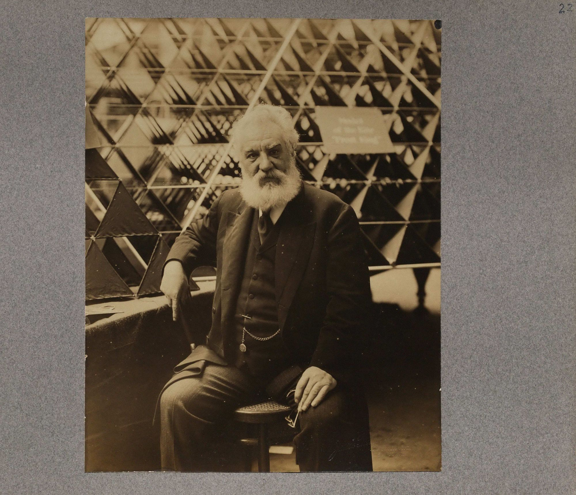 Early Aeronautical News Clippings (Alexander Graham Bell) Collection