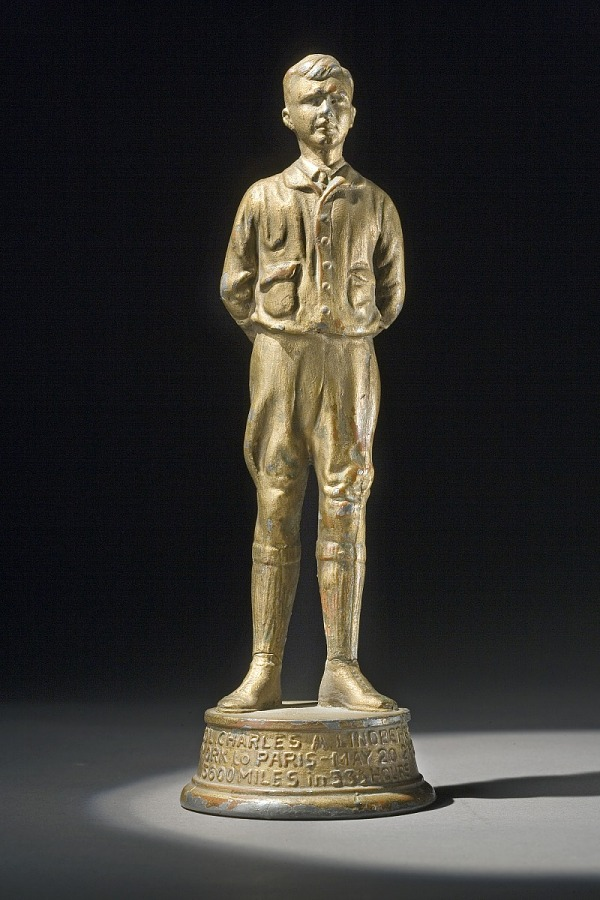 Statue, Lindbergh, King Collection