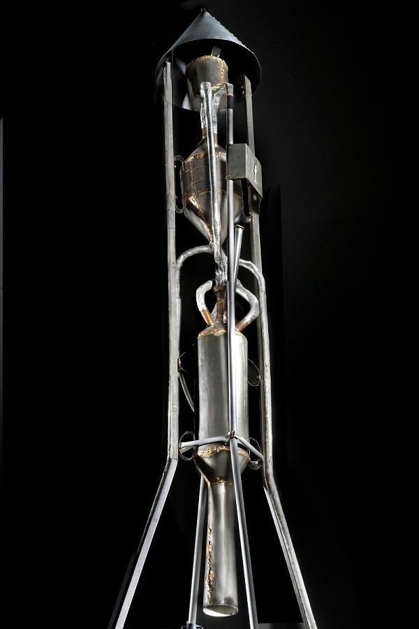 Goddard Hoopskirt Rocket