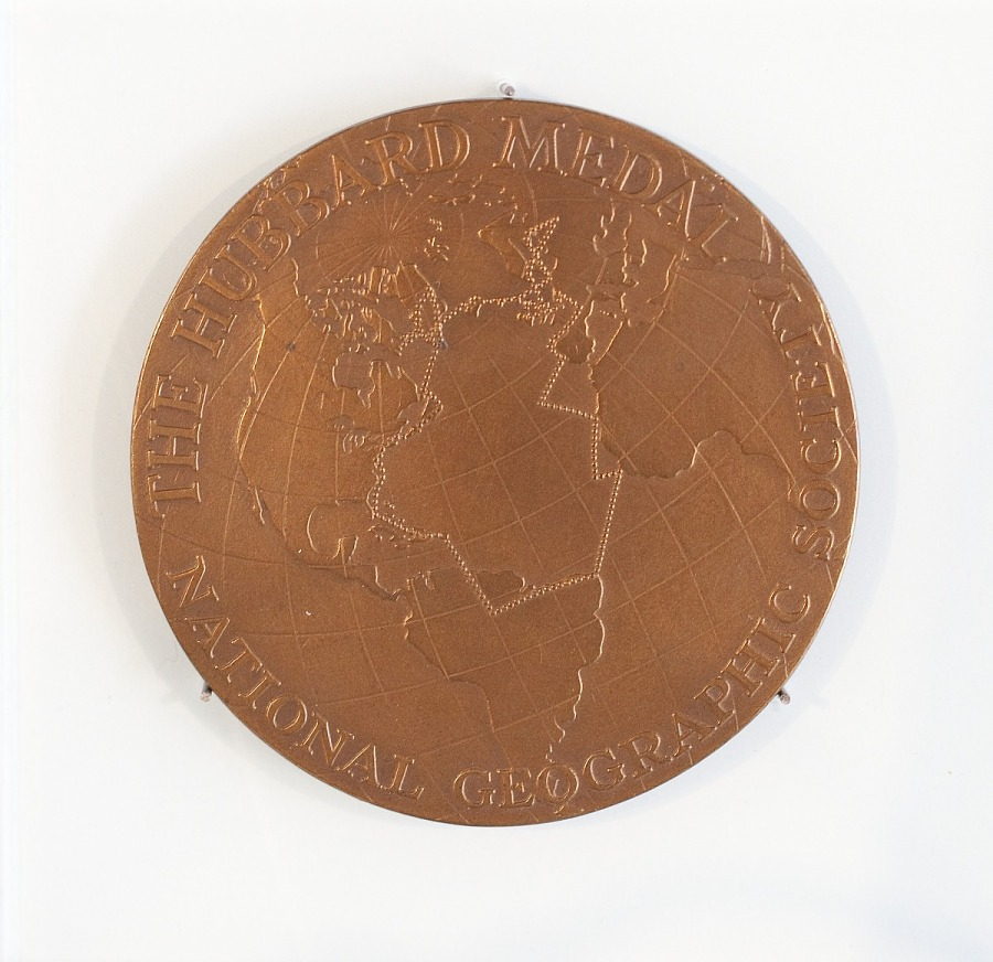 Medal, Hubbard Medal, Anne Morrow Lindbergh