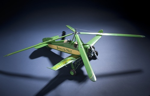 "Model, Static, Pitcairn PCA-2 ""Beech-Nut"""