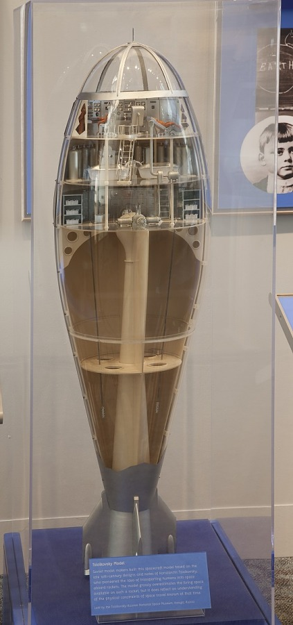 Model, Tsiolkovsky Space Craft