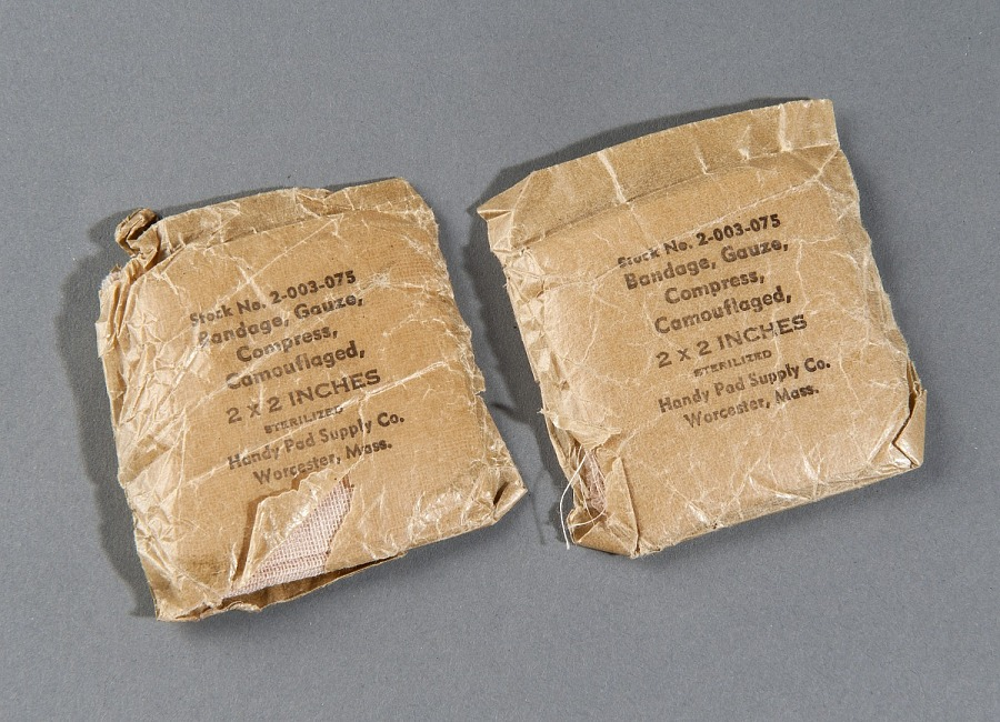 Vest, Survival, Gauze Bandage in Wax Paper, United States Air Force