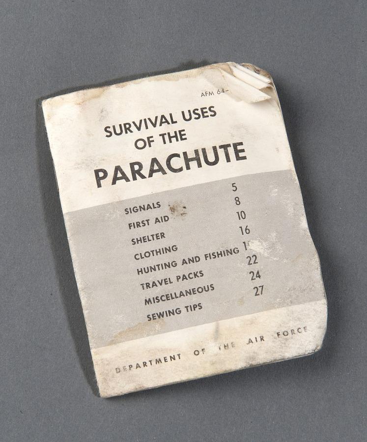 Vest, Survival, Parachute Survival Pamphlet, United States Air Force