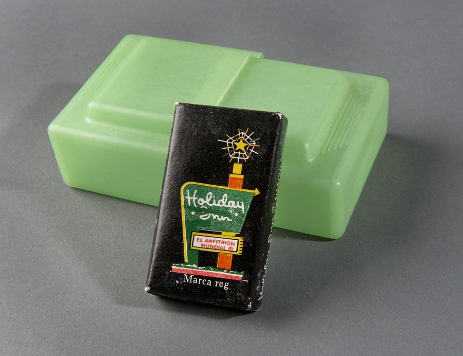 Vest, Survival, Soap Box with Holiday Inn Soap, United States Air Force