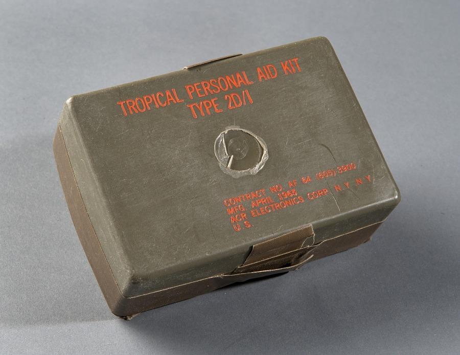 Vest, Survival, Tropical Medical Kit, United States Air Force
