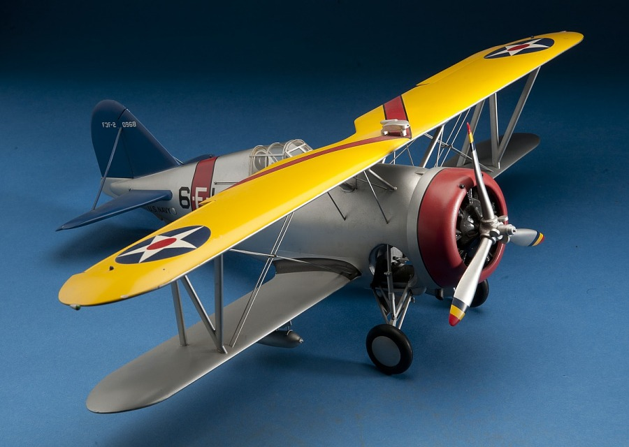 Model, Static, Grumman F3F-2