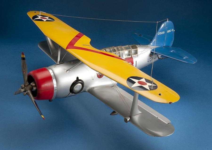 Model, Static, Curtiss SBC-3 Helldiver