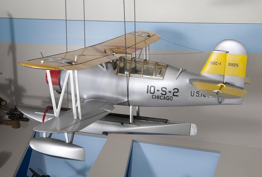 Model, Static, Curtiss SOC-3