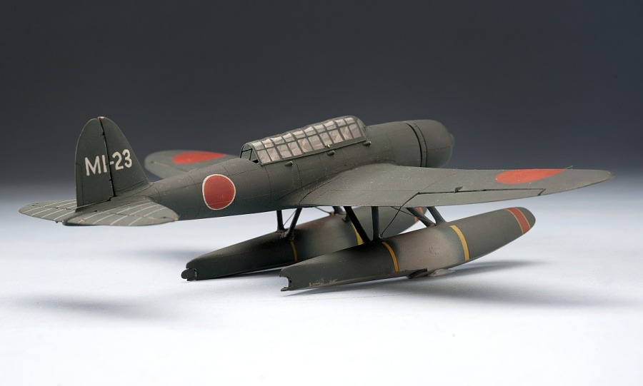 Model, Recognition, Aichi E13A1 'JAKE'