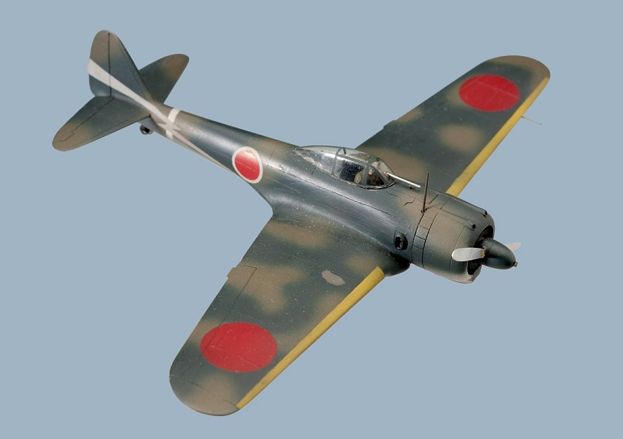 Model, Recognition, Nakajima Ki-43 'Oscar'