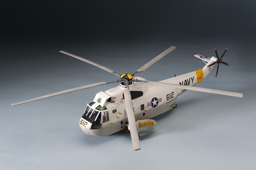 Model, Static, Sikorsky SH-3 Sea King