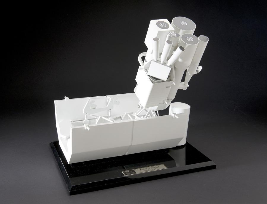 Model, Observatory, UV, Orbiting, Astro-1, 1:20