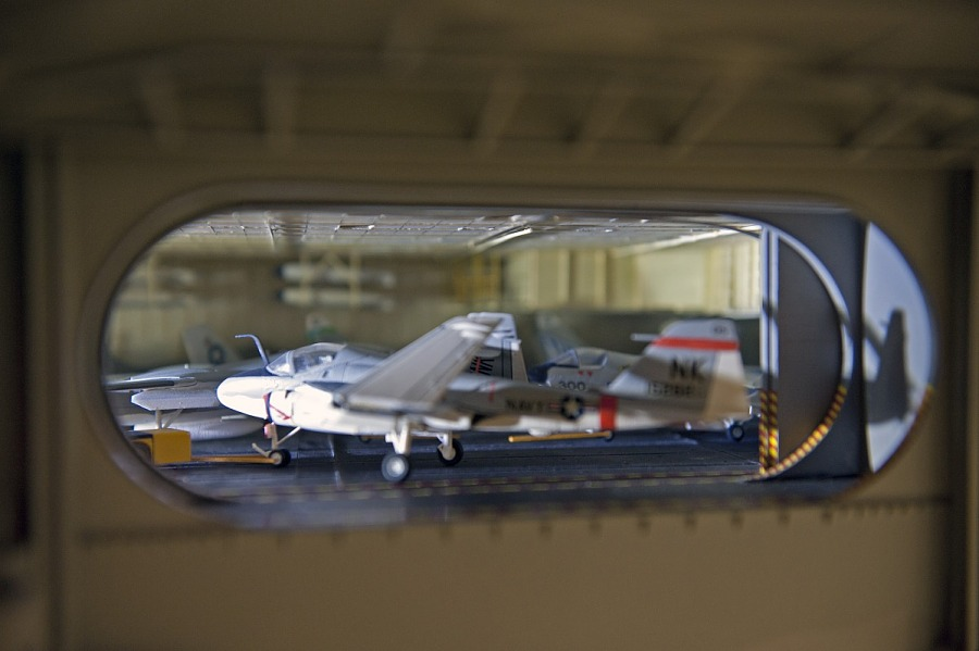 Model, Aircraft Carrier, USS Enterprise