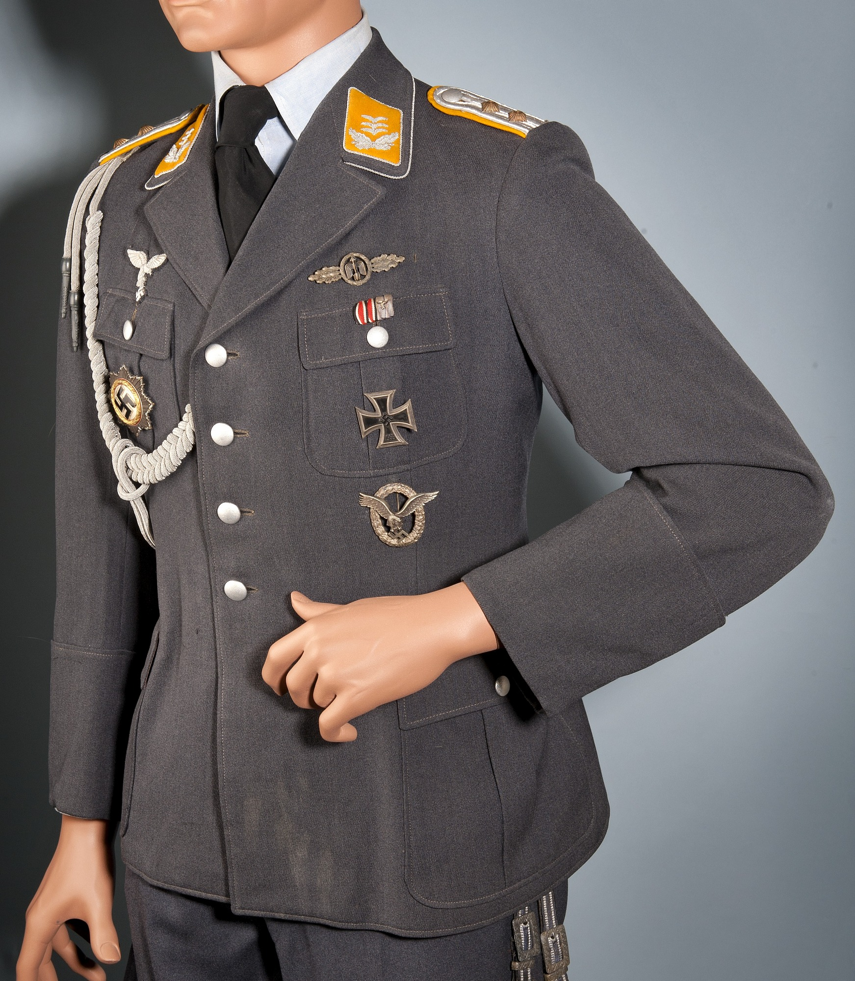 Coat, Service, Officer, Luftwaffe | National Air and Space