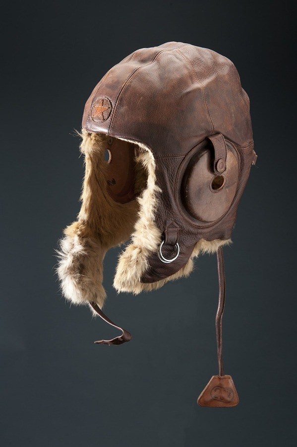Helmet, Flying, Winter, Japanese Army Air Force