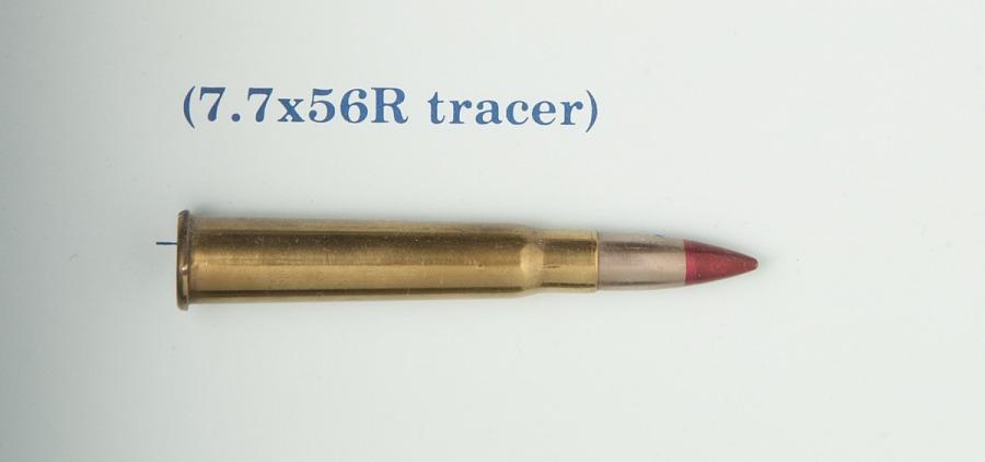 Cartridge, Tracer, 7.7x56R, Italian