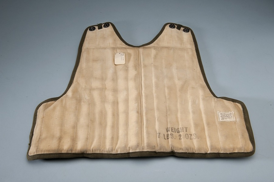 Armor, Vest, Type M2, Back, United States Army Air Forces