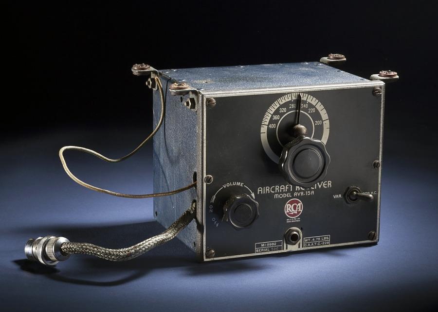 Receiver, Radio Range, RCA, AVR-15A