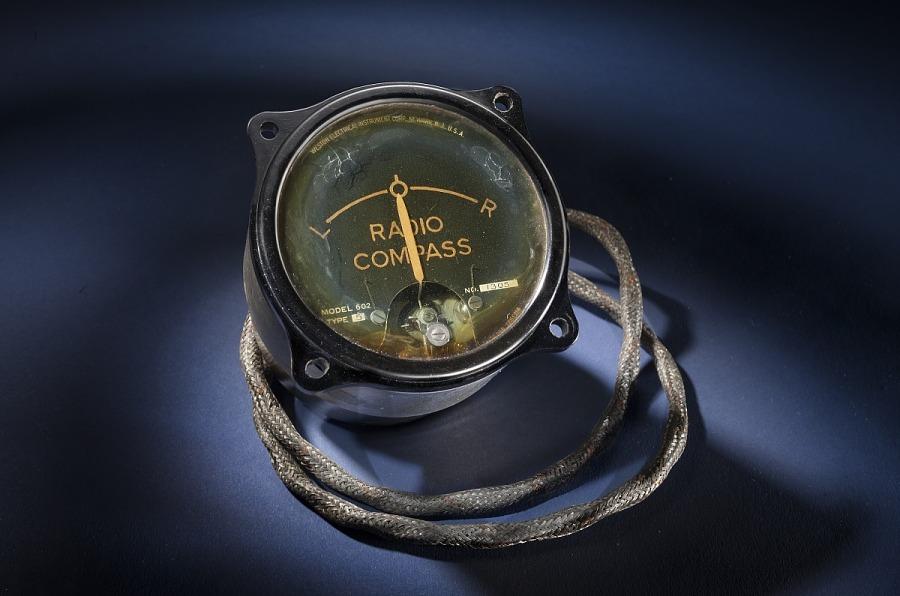 Indicator, Radio Compass, Type 5, Winnie Mae