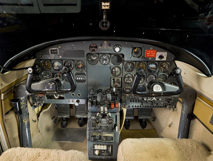 North American Rockwell Shrike Commander 500S, Robert A.
