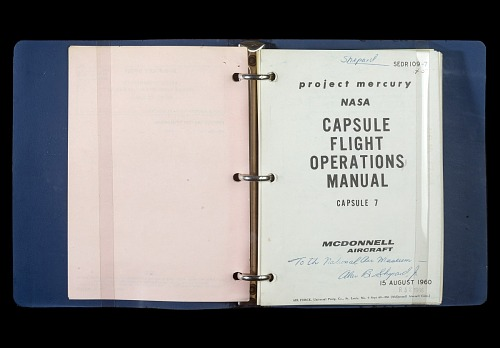 Flight Operations Manual, Freedom 7