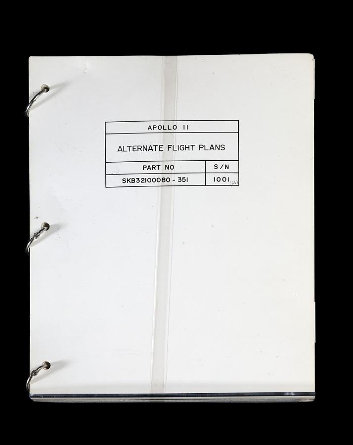 Flight Plans, Alternate, Apollo 11