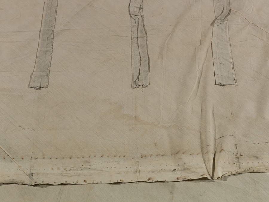 """Fabric, Aircraft, """"1903 Wright Flyer"""""""