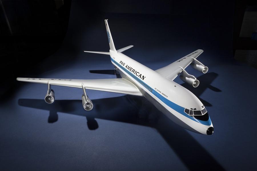 Model, Static, Boeing 707, Pan American World Airways