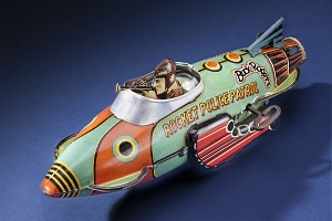 images for Toy, Space Ship, Buck Rogers, Rocket Police Patrol Ship-thumbnail 1