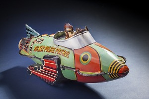 images for Toy, Space Ship, Buck Rogers, Rocket Police Patrol Ship-thumbnail 2