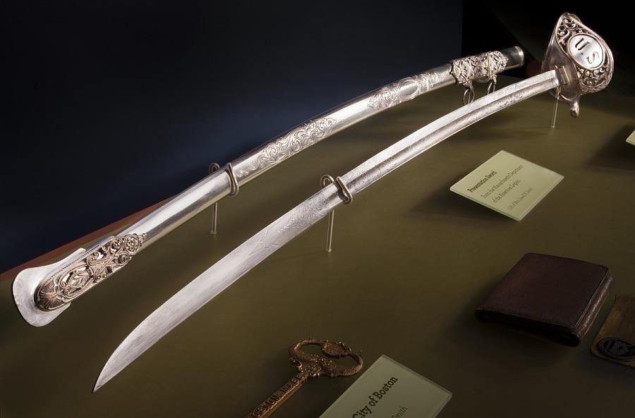 Sword, Presentation, Lt. Lowell Smith