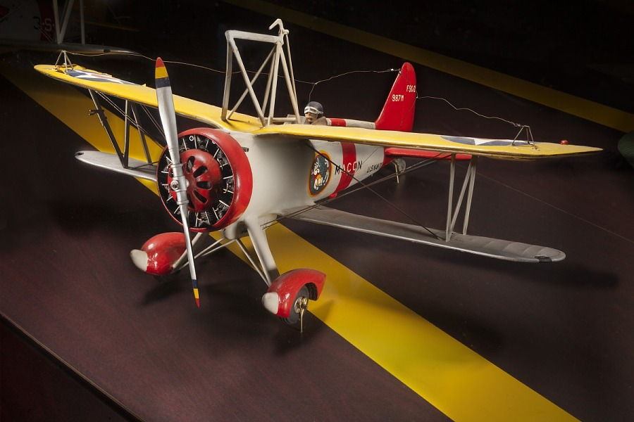 Model, Static, Curtiss F9C-2 Sparrowhawk