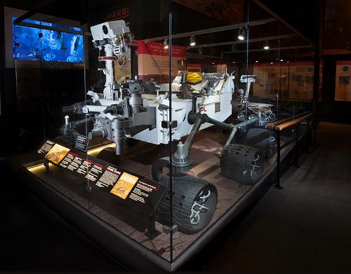 Model, Mars Science Laboratory, Mars Rover Curiosity