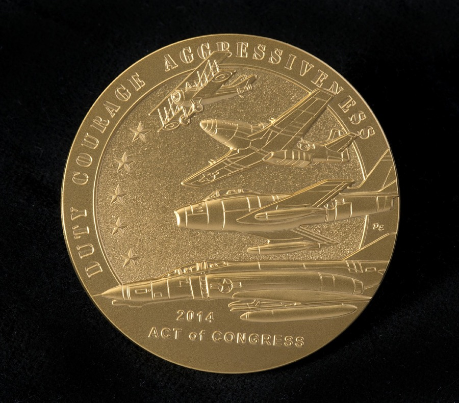 Medal, Congressional Gold, American Fighter Aces