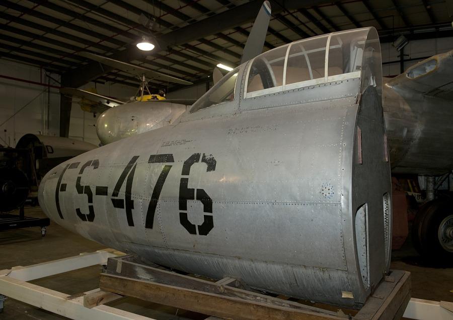 Republic XP-84 Thunderjet Forward Fuselage